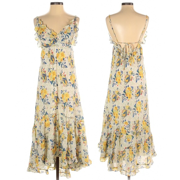Johnny Was Dresses & Skirts - Johnny Was Yellow Field 8 Floral Dress